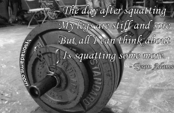 weightlifting – Tyson Adams