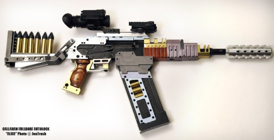 Nerd cred if you can name this gun correctly.