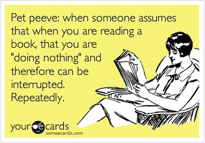 Reading interruptions