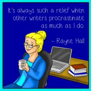 Rayne-Hall-Writing-Meme-Procrastination-300x300