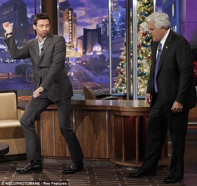 Jackman dancing