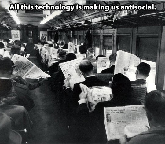 tech making us antisocial