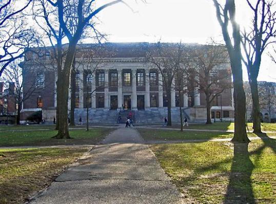 Widener Library, Harvard University