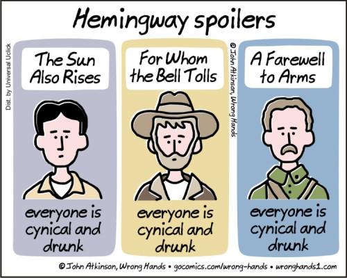 hemingway-spoilers