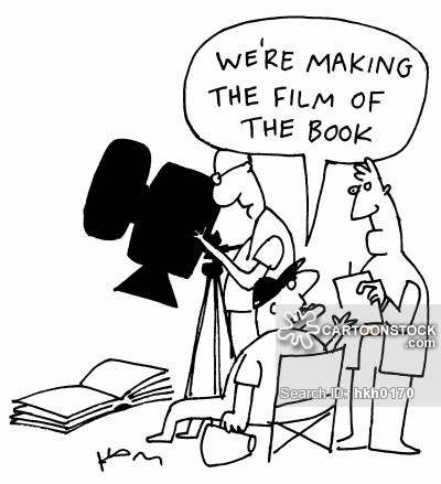 'We are making a film of the book.'