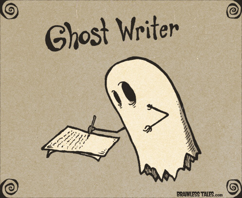 ghost-writer